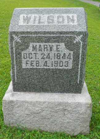 WILSON, MARY E. - Shelby County, Ohio | MARY E. WILSON - Ohio Gravestone Photos