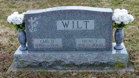 WILT, IRENE F. - Shelby County, Ohio | IRENE F. WILT - Ohio Gravestone Photos