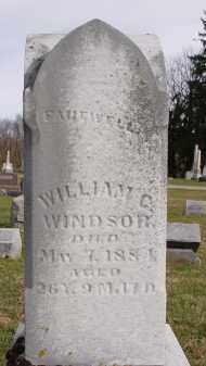 WINDSOR, WILLIAM C - Shelby County, Ohio | WILLIAM C WINDSOR - Ohio Gravestone Photos