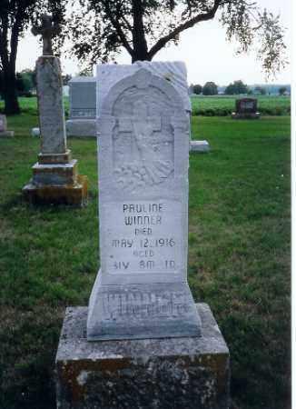WINNER, PAULINE - Shelby County, Ohio | PAULINE WINNER - Ohio Gravestone Photos