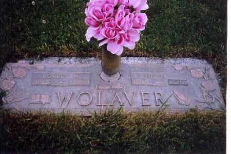 WOLAVER, HELEN I. - Shelby County, Ohio | HELEN I. WOLAVER - Ohio Gravestone Photos