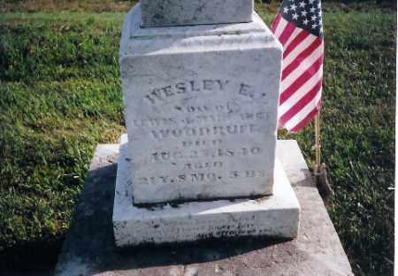 WOODREFF, WESLEY E. - Shelby County, Ohio | WESLEY E. WOODREFF - Ohio Gravestone Photos