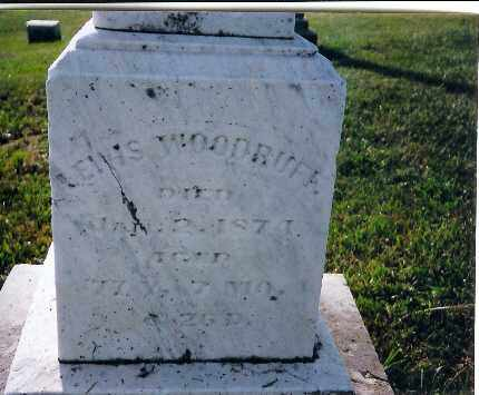 WOODRUFF, LEWIS - Shelby County, Ohio | LEWIS WOODRUFF - Ohio Gravestone Photos