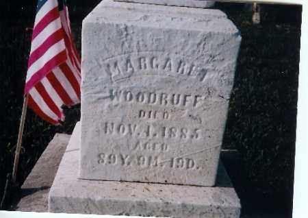 WOODRUFF, MARGARET - Shelby County, Ohio | MARGARET WOODRUFF - Ohio Gravestone Photos
