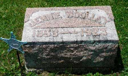 WOOLLEY, JENNIE - Shelby County, Ohio | JENNIE WOOLLEY - Ohio Gravestone Photos