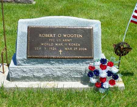 WOOTEN, ROBERT O. - Shelby County, Ohio | ROBERT O. WOOTEN - Ohio Gravestone Photos