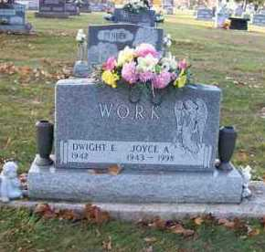 WORK, DWIGHT E. - Shelby County, Ohio | DWIGHT E. WORK - Ohio Gravestone Photos