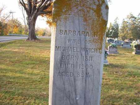 WRIGHT, BARBARA H. - Shelby County, Ohio | BARBARA H. WRIGHT - Ohio Gravestone Photos