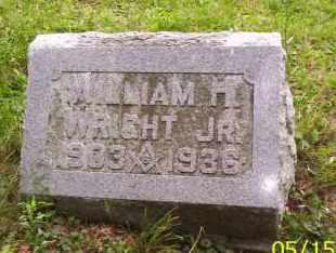 WRIGHT, WILLIAM H. JR. - Shelby County, Ohio | WILLIAM H. JR. WRIGHT - Ohio Gravestone Photos