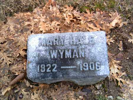 WYMAN, MARY - Shelby County, Ohio | MARY WYMAN - Ohio Gravestone Photos