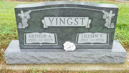 YINGST, ARTHUR A. - Shelby County, Ohio | ARTHUR A. YINGST - Ohio Gravestone Photos