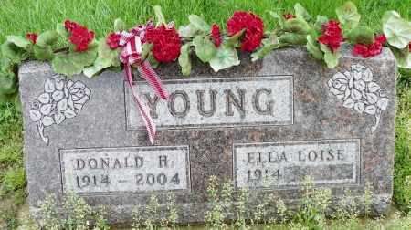 YOUNG, DONALD H. - Shelby County, Ohio | DONALD H. YOUNG - Ohio Gravestone Photos