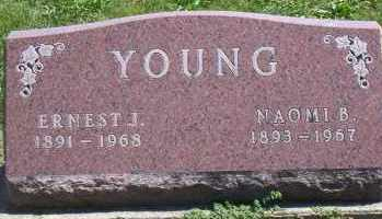 YOUNG, NAOMI B. - Shelby County, Ohio | NAOMI B. YOUNG - Ohio Gravestone Photos