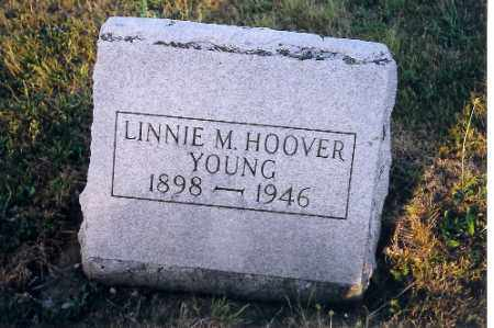 YOUNG, LUNNIE M. HOOVER - Shelby County, Ohio | LUNNIE M. HOOVER YOUNG - Ohio Gravestone Photos