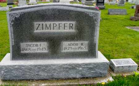 ZIMPFER, JACOB F. - Shelby County, Ohio | JACOB F. ZIMPFER - Ohio Gravestone Photos