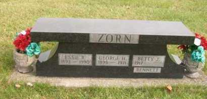 ZORN BENNETT, BETTY J. - Shelby County, Ohio | BETTY J. ZORN BENNETT - Ohio Gravestone Photos