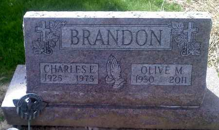 BRANDON, CHARLES EVERETT - Stark County, Ohio | CHARLES EVERETT BRANDON - Ohio Gravestone Photos