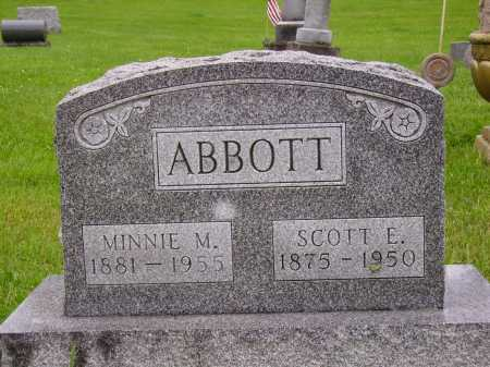 ABBOTT, MINNIE M. - Stark County, Ohio | MINNIE M. ABBOTT - Ohio Gravestone Photos