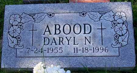 ABOOD, DARYL N. - Stark County, Ohio | DARYL N. ABOOD - Ohio Gravestone Photos