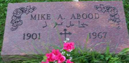 ABOOD, MIKE A. - Stark County, Ohio | MIKE A. ABOOD - Ohio Gravestone Photos