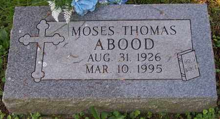 ABOOD, MOSES THOMAS - Stark County, Ohio | MOSES THOMAS ABOOD - Ohio Gravestone Photos