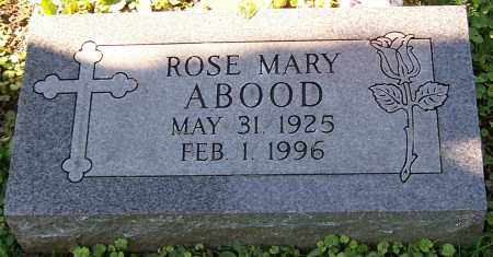 ABOOD, ROSE MARY - Stark County, Ohio | ROSE MARY ABOOD - Ohio Gravestone Photos