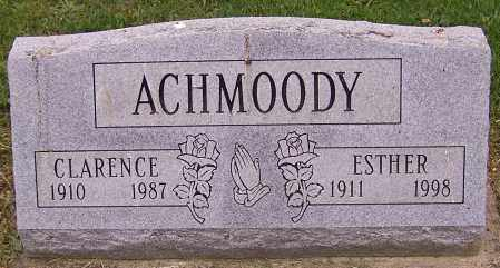 ACHMOODY, ESTHER - Stark County, Ohio | ESTHER ACHMOODY - Ohio Gravestone Photos