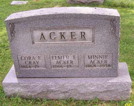 ACKER, MINNIE - Stark County, Ohio | MINNIE ACKER - Ohio Gravestone Photos