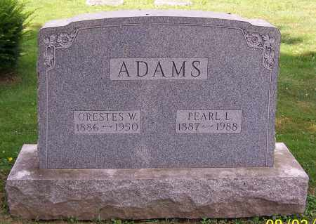 ADAMS, ORESTES W. - Stark County, Ohio | ORESTES W. ADAMS - Ohio Gravestone Photos