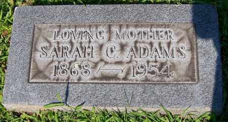 ADAMS, SARAH C. - Stark County, Ohio | SARAH C. ADAMS - Ohio Gravestone Photos