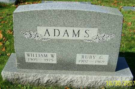ADAMS, WILLIAM W. - Stark County, Ohio | WILLIAM W. ADAMS - Ohio Gravestone Photos