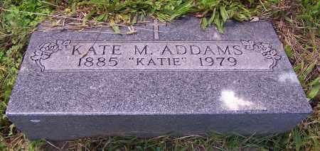 ADDAMS, KATE M. - Stark County, Ohio | KATE M. ADDAMS - Ohio Gravestone Photos