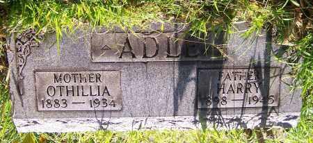 ADLE, OTHILLIA - Stark County, Ohio | OTHILLIA ADLE - Ohio Gravestone Photos