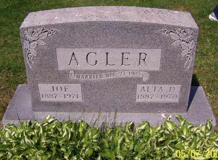 AGLER, JOE - Stark County, Ohio | JOE AGLER - Ohio Gravestone Photos