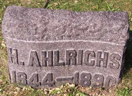 AHLRICHS, H. - Stark County, Ohio | H. AHLRICHS - Ohio Gravestone Photos