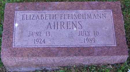 FLEISCHMANN AHRENS, ELIABETH - Stark County, Ohio | ELIABETH FLEISCHMANN AHRENS - Ohio Gravestone Photos