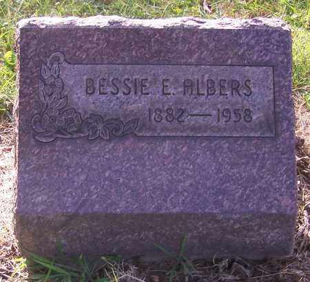 ALBERS, BESSIE E. - Stark County, Ohio | BESSIE E. ALBERS - Ohio Gravestone Photos