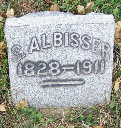 ALBISSER, S. - Stark County, Ohio | S. ALBISSER - Ohio Gravestone Photos