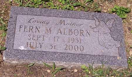 ALBORN, FERN M. - Stark County, Ohio | FERN M. ALBORN - Ohio Gravestone Photos