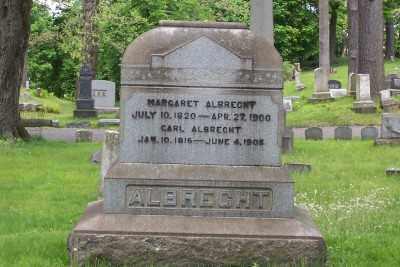 ALBRECHT, CARL - Stark County, Ohio | CARL ALBRECHT - Ohio Gravestone Photos