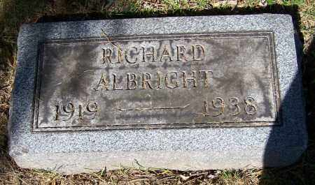 ALBRIGHT, RICHARD - Stark County, Ohio | RICHARD ALBRIGHT - Ohio Gravestone Photos