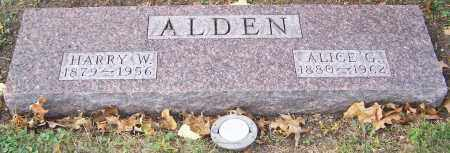 ALDEN, HARRY W. - Stark County, Ohio | HARRY W. ALDEN - Ohio Gravestone Photos