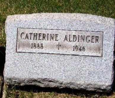 ALDINGER, CATHERINE - Stark County, Ohio | CATHERINE ALDINGER - Ohio Gravestone Photos