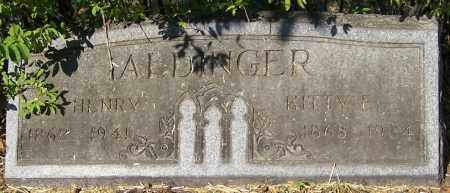ALDINGER, KITTY E. - Stark County, Ohio | KITTY E. ALDINGER - Ohio Gravestone Photos