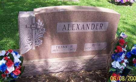 ALEXANDER, FRANK H. - Stark County, Ohio | FRANK H. ALEXANDER - Ohio Gravestone Photos