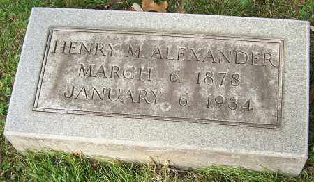 ALEXANDER, HENRY M. - Stark County, Ohio | HENRY M. ALEXANDER - Ohio Gravestone Photos