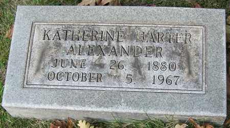 ALEXANDER, KATHERINE HARTER - Stark County, Ohio | KATHERINE HARTER ALEXANDER - Ohio Gravestone Photos