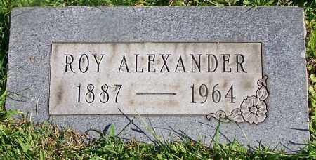 ALEXANDER, ROY - Stark County, Ohio | ROY ALEXANDER - Ohio Gravestone Photos
