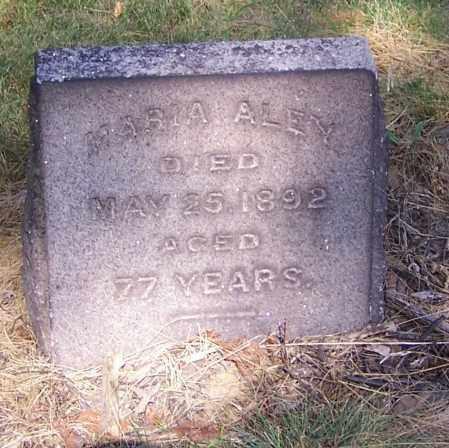 ALEY, MARIA - Stark County, Ohio | MARIA ALEY - Ohio Gravestone Photos