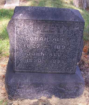 ALEY, SARAH - Stark County, Ohio | SARAH ALEY - Ohio Gravestone Photos
